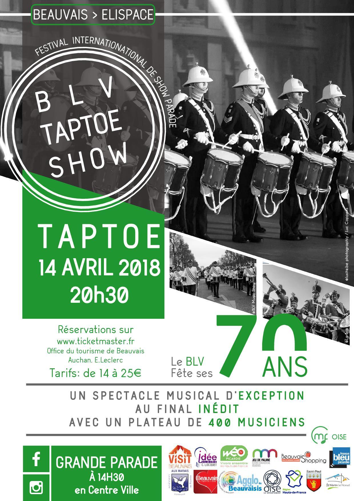 Taptoe Beauvais 2018